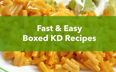 Fast & Easy Boxed KD Recipes